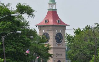Berne Clock Tower North Driving View